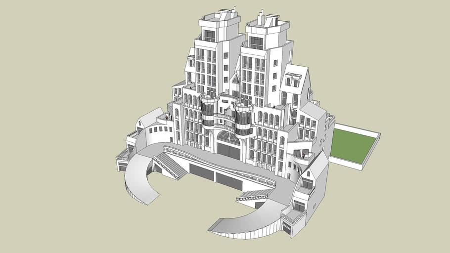 Mediterranean Grand - Luxury Apartment Complex