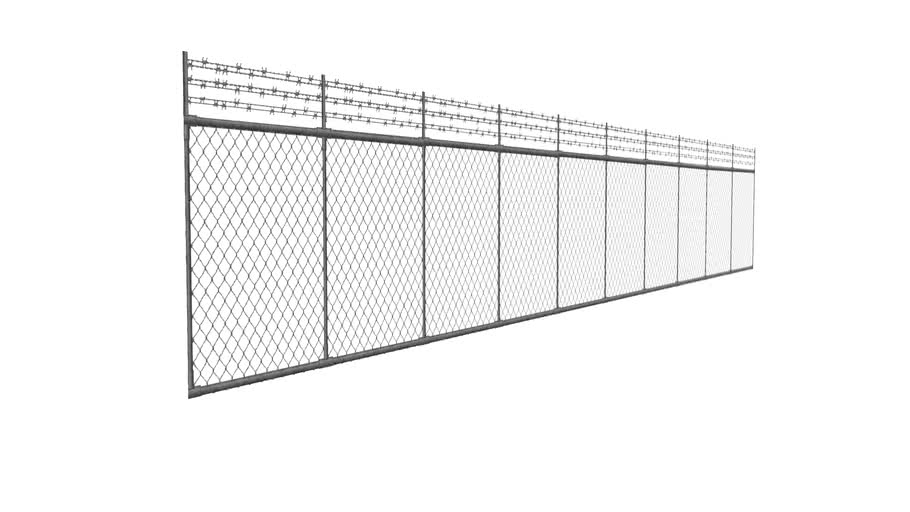 Fence between Admin and Maintenance