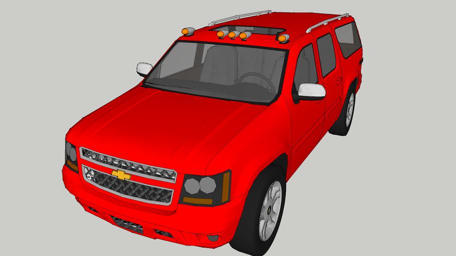 2013 Chevy Suburban 4X4 LTZ