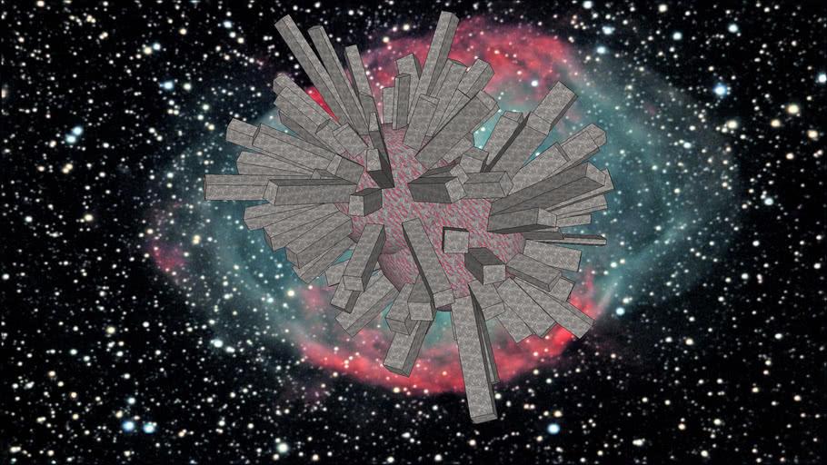 Strange Object in Space - Sketchup 7.