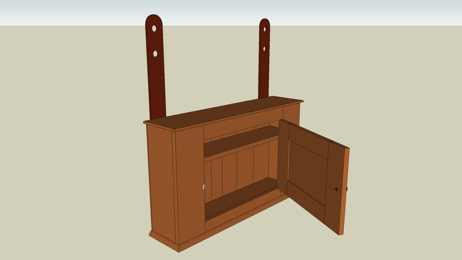 Pleasant Hill Shaker Cupboard from Popular Woodworking June 2006