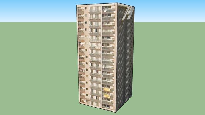 Bâtiment situé 〒064-0916
