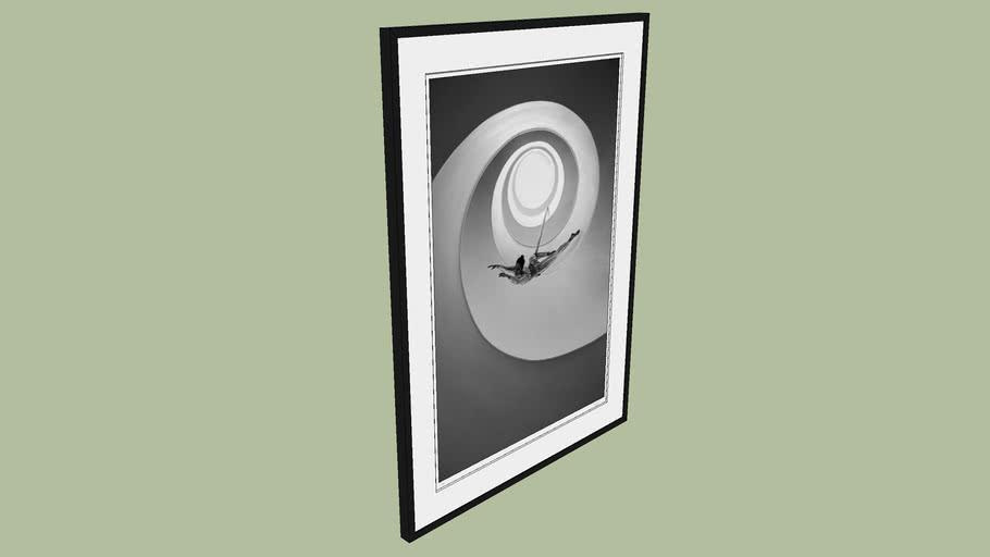 "BRODZIAK ""Loop #01"" 93x129cm - Black&White, Photography, Image, Picture"