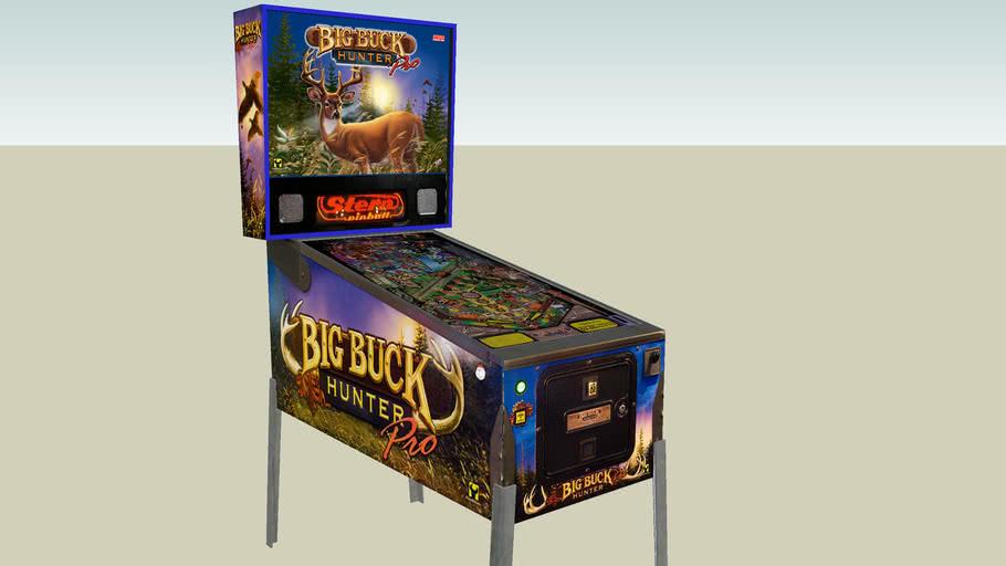 Big Buck Hunter pinball machine