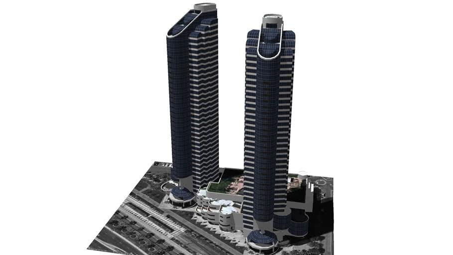 Model of the San Diego Harbor Club