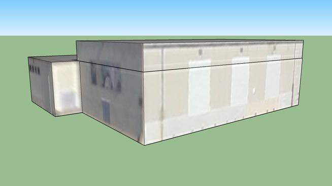 Building near St. Hope Public School in Sacramento, CA.