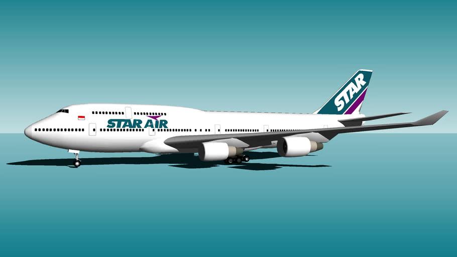 Star Air Boeing 747-400