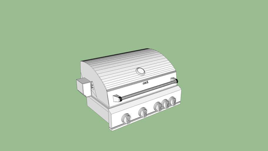 EVOL - Churrasqueira a gás Florence (3ª geração)