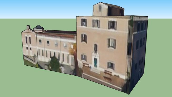 Bâtiment situé 00120 Vatican