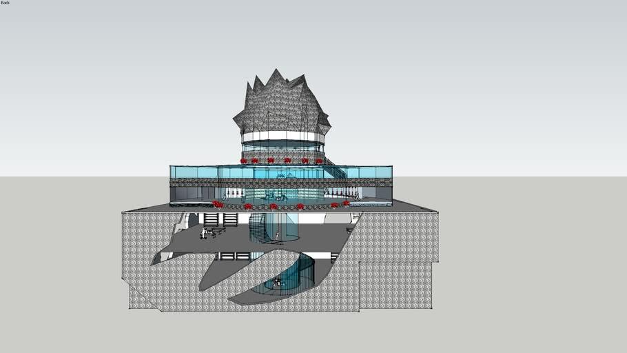 ARCH1101 2013 EXP 1: 'CREATION (KIMURA)-PERFECTION (STRADIVARI)' MODEL