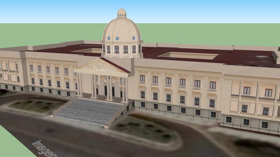 Palacio nacional de la Republica Dominicana - Santo Domingo