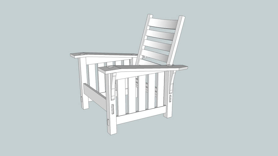 Stickley 369 Morris Chair from Popular Woodworking Magazine April 2011