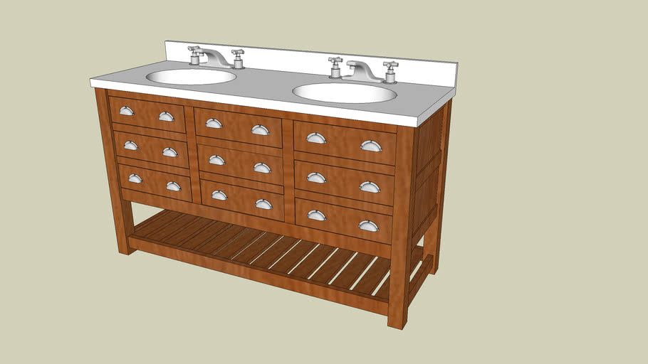 Bathroom Vanity 3d Warehouse
