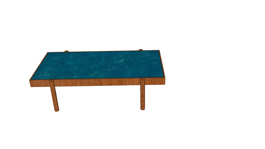 Melrose Rectangle Coffee Table