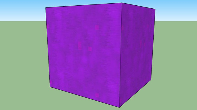 cube (perfect) (purple)