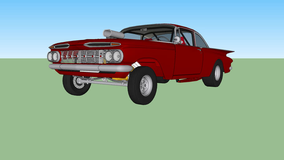 1959 Chevrolet Biscayne Gasser
