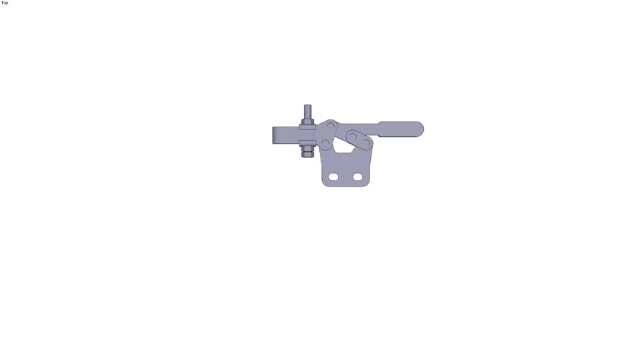 Right collar toggle clamp - M5x35