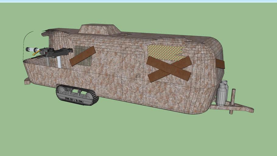 Zombie Apocalypse Caravan (Airstream)