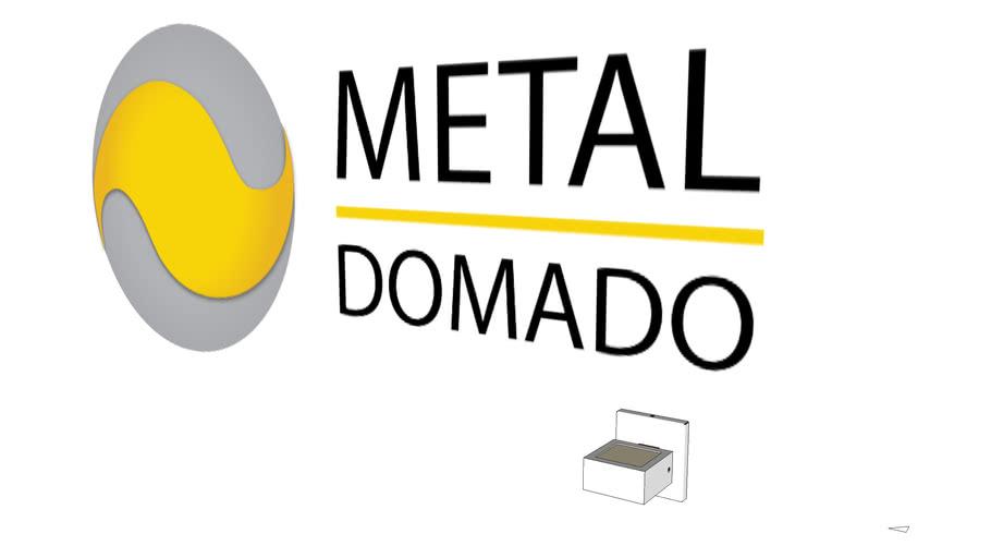 ARANDELA YUCCA 5260 - METAL DOMADO ILUMINAÇÃO