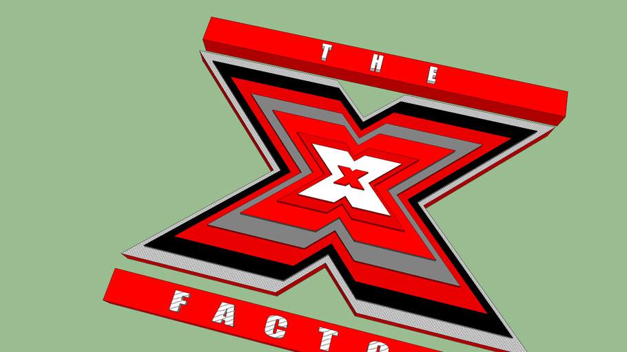 3d xfactor logo