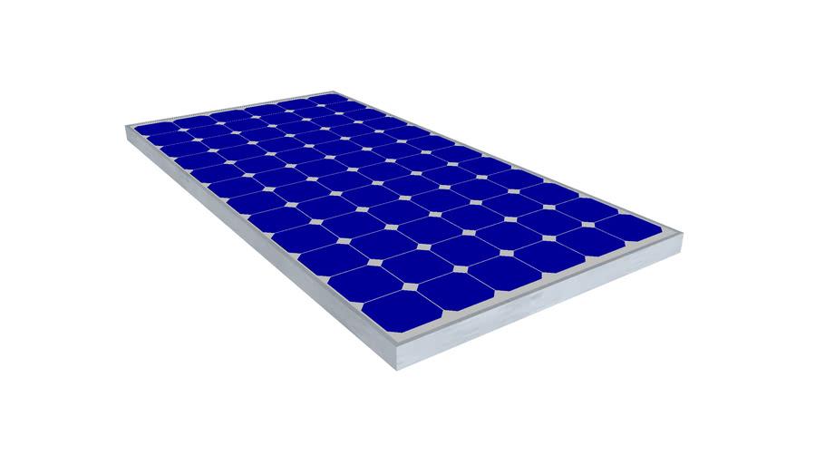 Bp Solar Panel 175w 180w 3d Warehouse