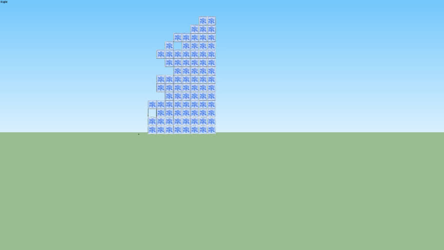 Asymetric Wall