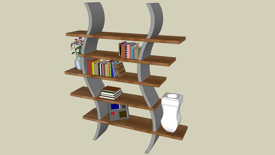 Curved Shelf/Bookcase