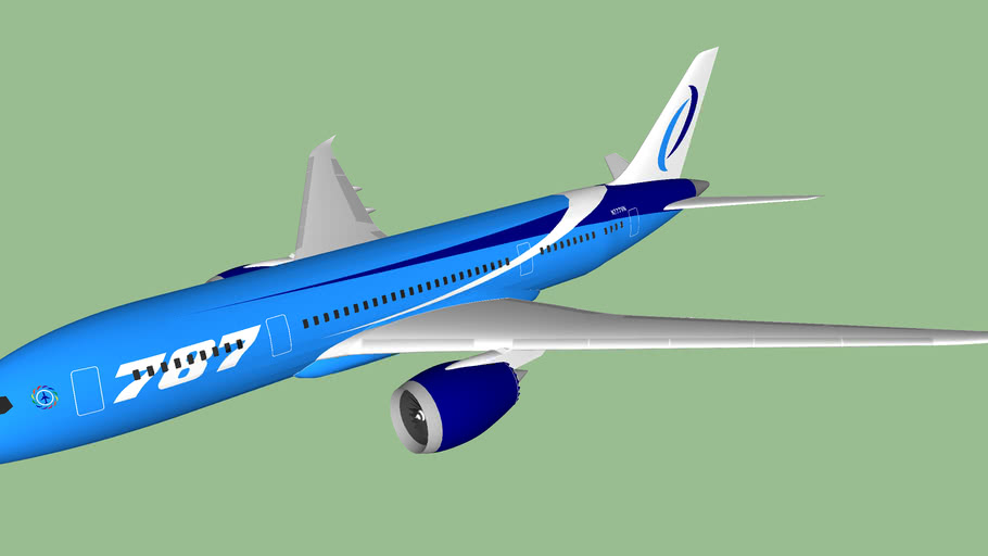 V2 Airlines (2012 [FICTIONAL]) - Boeing 787-8VG Dreamliner (new livery)