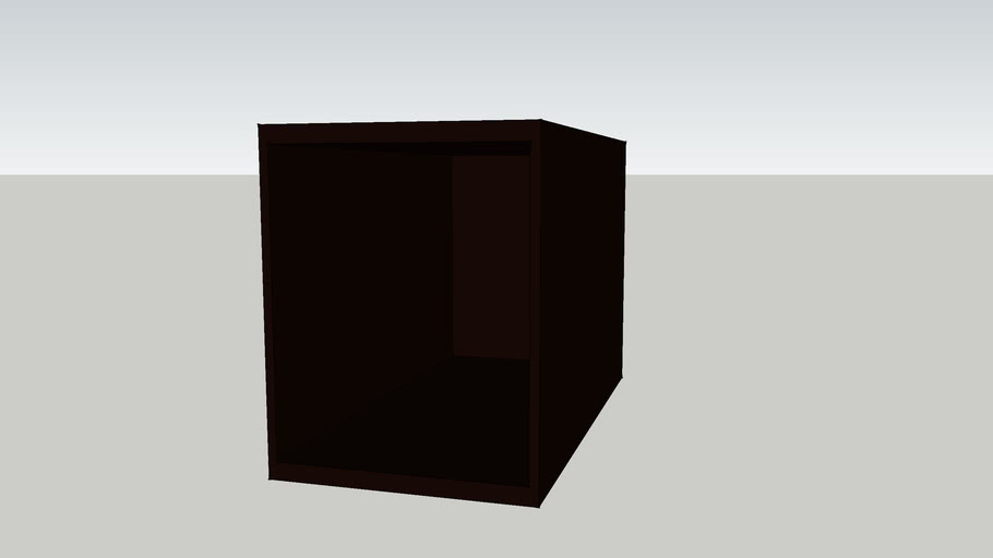IKEA BESTA Shelf unit 30x59x38 black-brown