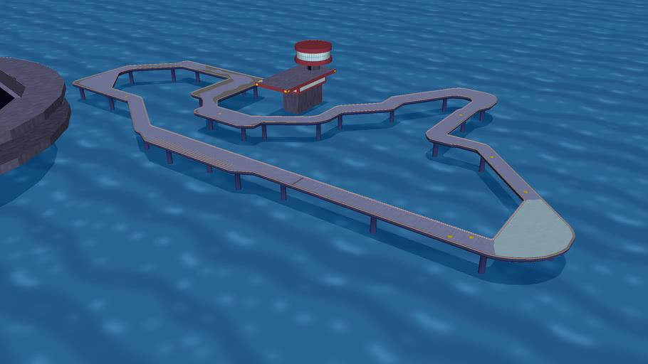 SNES F-ZERO Big Blue - Mario Kart Wii Custom Track (Version 1)