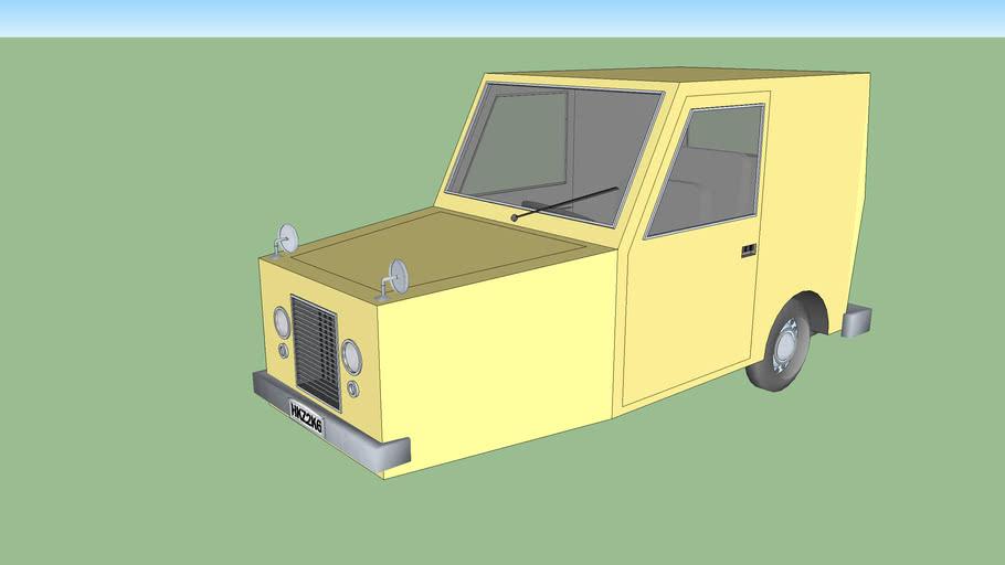 Buttlamo's restored car
