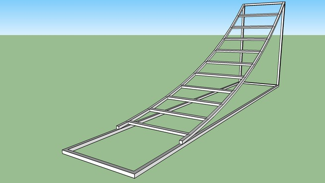 fmx ramp frame with supports