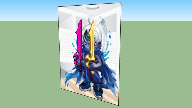 flame sword of gaiaonline