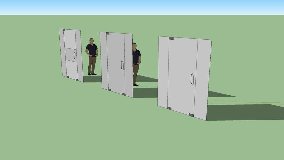 Puerta de Vidrio 2,20 x 0,95
