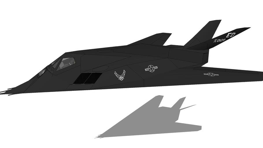 """Aircraft - Lockheed F-117A """"Nighthawk"""""""