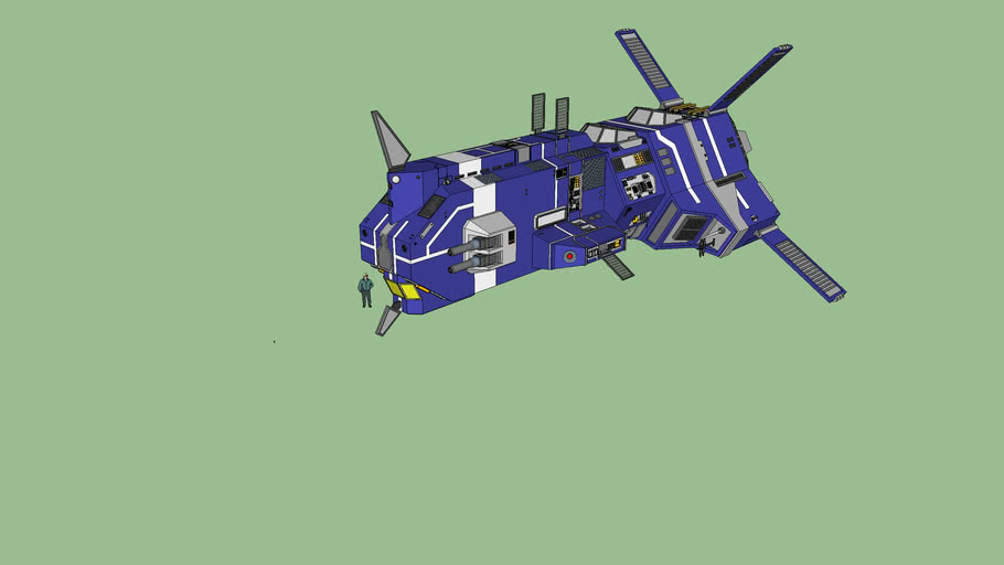 Kiith Somtaaw Heavy Corvette - Homeworld 2nd Cataclysm by Norsehound