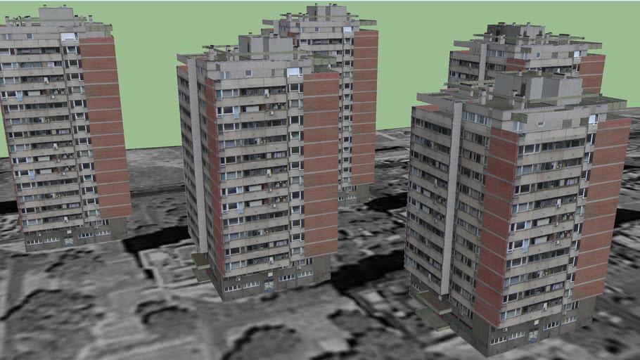 Blok 70, Jurija Gagarina br. 63, 67, 69, 73, 77, Novi Beograd