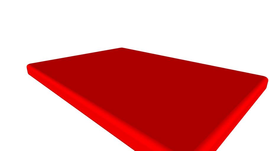 Standard UK double bed mattress 4'6 wide #DIYCamper