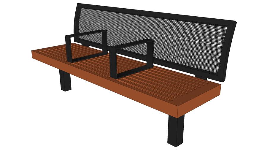 Sonoma Backed Bench
