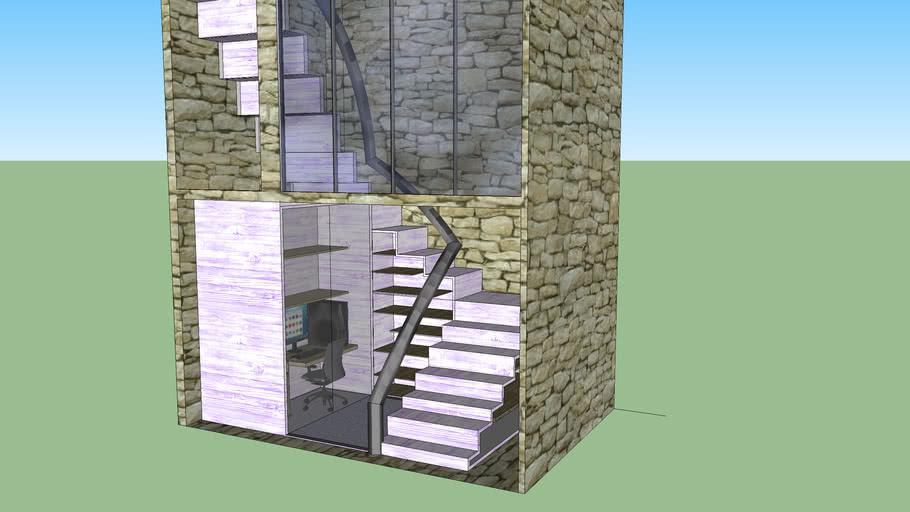 escada escritorio