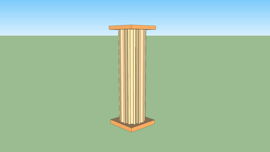 Pole for exlusive houses, villas, and museums.