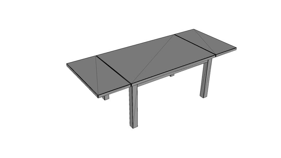 Firma Edar: Stół drewniany S-3 rozłożony