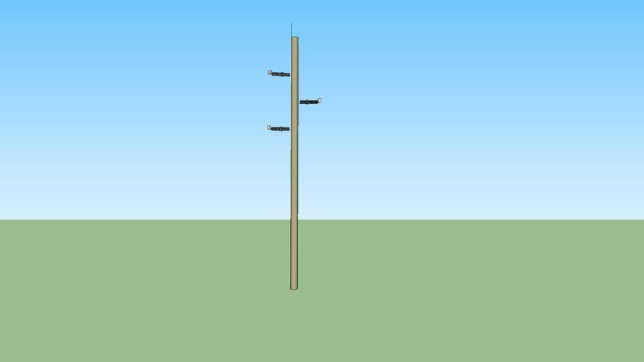 Transmission Concrete sturdy pole