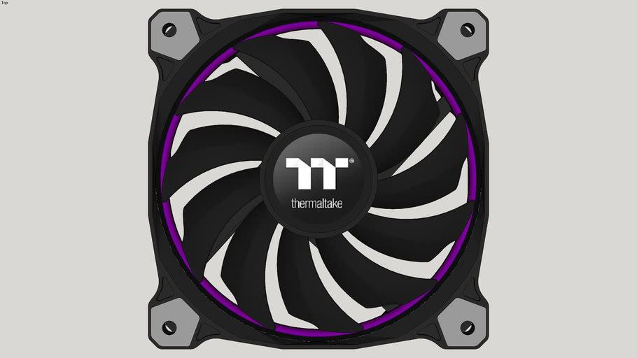 Thermaltake Riing 12 RGB Radiator Fan TT Premium Edition - Roxo