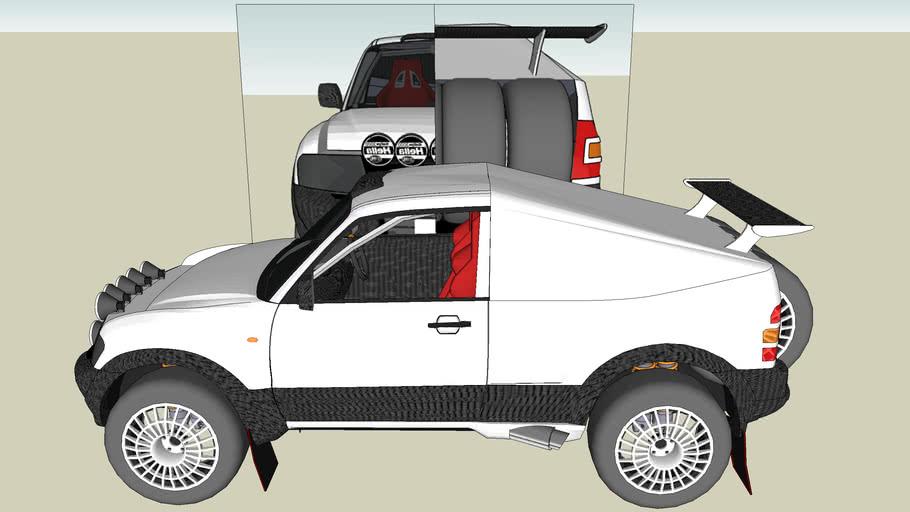 Mitsubishi Pajero Prototype