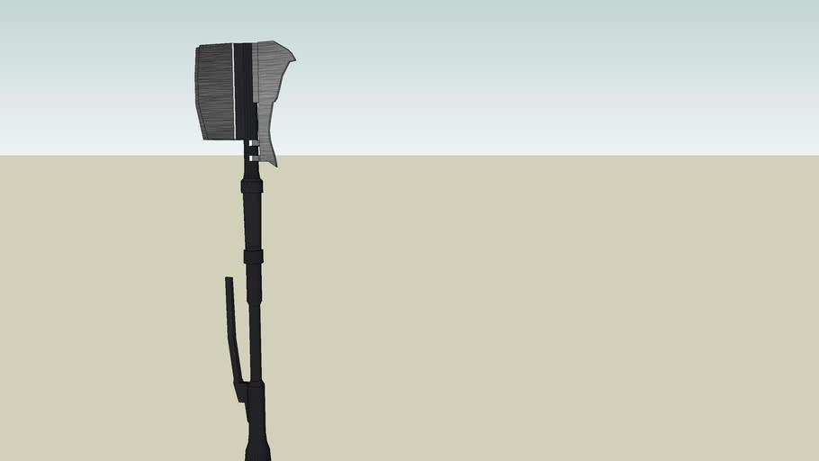 Type 2 Melee Weapon (Grav Hammer) Halo 3
