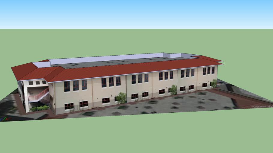 Monte Vista High School 200 Building