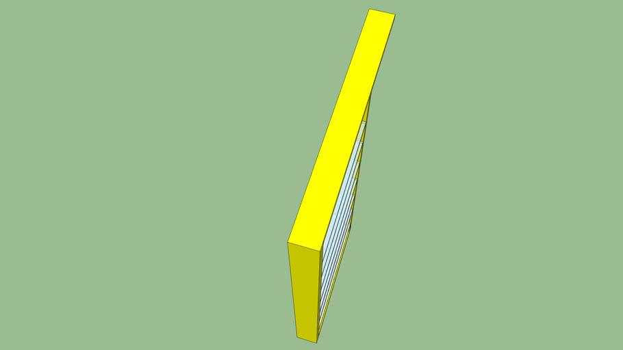 Prateleira amarela