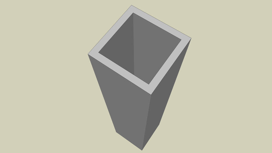 STEEL SECTION - SQUARE HOLLOW SECTION SIZE 50 X 50 - PART 066 OF 180