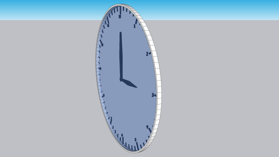 Contemporary Modern Wall Clock